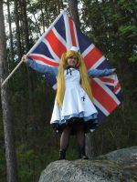 .Cosplay. Fem!England 10 by Snibu