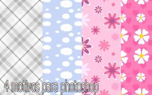 4 motivos para photoshop by pamelahflores