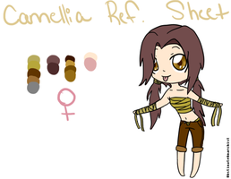 Camellia Ref. Sheet by ObstinateAnarchist