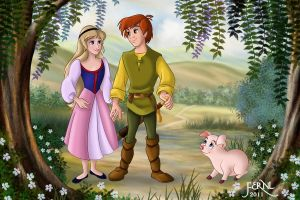 TARAN AND EILONWY by FERNL