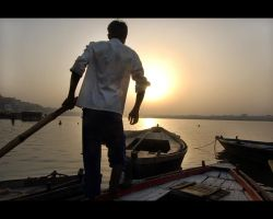 Varanasi Sunrise by MaxMG