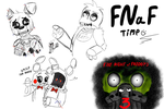.:FNaF sketches:. by Mishti14