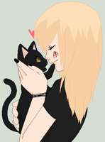 kitty love :P by miya-is-cool