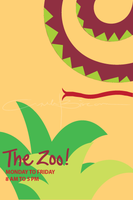 poster - the zoo snake by iAmAneleBiscarra