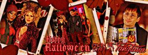 Free Halloween True Blood/Fangtasia Facebook Cover by riogirl9909