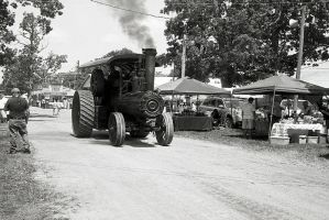 Frick Steam Tractor II by rdungan1918