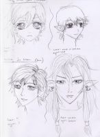 Prince and Gui Sketches by andreya133