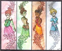 The Four Seasons by Pixy-Brand