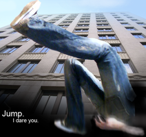 Jump. I dare you. by LoveTuli