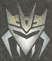 Decepticon Insignia - Hardshell (insecticon) (TFP) by LadyIronhide