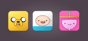 Tutorial: Adventure Time Icons in Illustrator by marywinkler