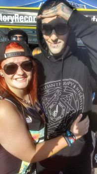 Chris Motionless and me by Mrs-Odair-Mellark