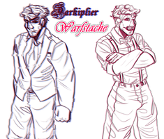 Dark And Warfstache by RussianRider512