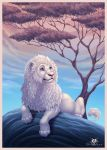 White Lion by DolphyDolphiana