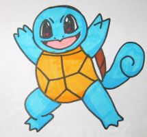 Squirtle by PriestessPandora