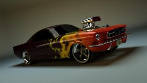 Mustang :: 2 by svenndesign