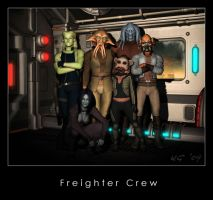 Freighter Crew by Kaernen