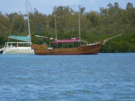 Mauritian Ship 6 by vamprys-stock