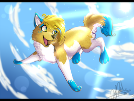 .:I believe I can fly:. by SnowyCakes