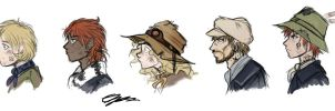 TBR - Side profiles by Hatted-Squirrel
