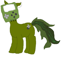 Green GBA Unicorn Pointable (HOLD) by PikPik-Adoption
