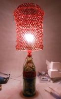 Custom Coca-Cola Lamp I by lizking10152011