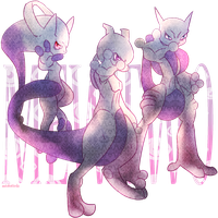 Advent of Mewtwo by AutobotTesla