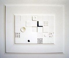 White Structure No35. 1993 by Yudaev