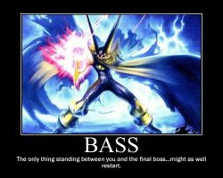 Bass motivational poster by Tubarken