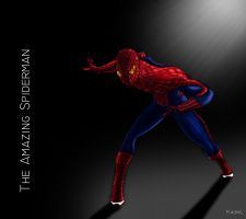 The Amazing Spiderman by mrkmhtet