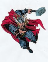 The mighty Thor by meralc