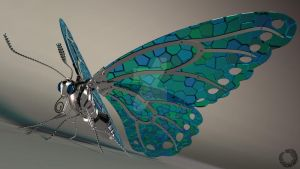 Mechanical Butterfly by Lilith-Symphony