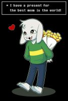 Asriel (AT) by Ethai
