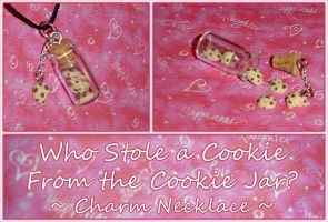 Mini Cookie Jar Charm Necklace by YellerCrakka