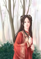 chinese female by kiyaaa