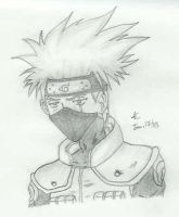 Kakashi__Looking Down by slamduncan2115