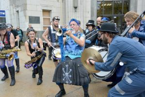 2014 Honk Festival, Chaotic Noise Converge by Miss-Tbones