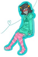 Sweatshirts and Thigh Highs by DemonicLollipop