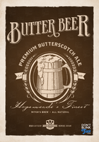 Harry Potter Butterbeer Poster by dontblinktees