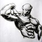 Mr. Muscle by TicoDrawing