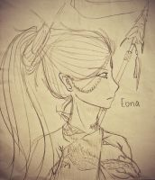 Eona by Alison Goodman (homage) by Hotaro-sui