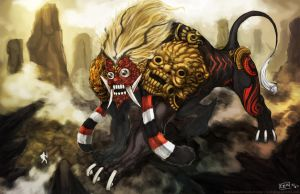 Colossus of Earth - Barong by kodoktua
