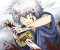 Gintoki by SamuraiWARRIOR7
