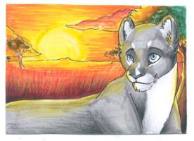Pride of the Lioness - Gift by PoonieFox