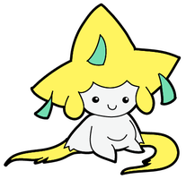 Jirachi Smile by RAWr-its-ASH