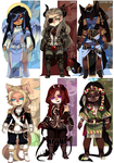 (CLOSED) Adopt Set 6 by TerraTerrific