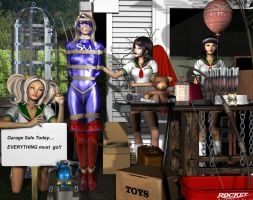 Garage Sale by Tuffers-Art