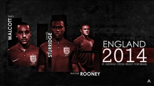 England National Team 2014 by AlbertGFX