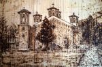 Etropole monastery (pyrography) by KGK-92