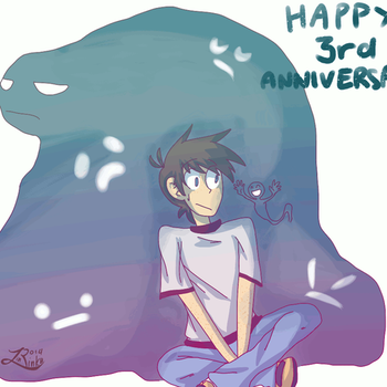 Happy 3rd Anniversary by LinksInMe